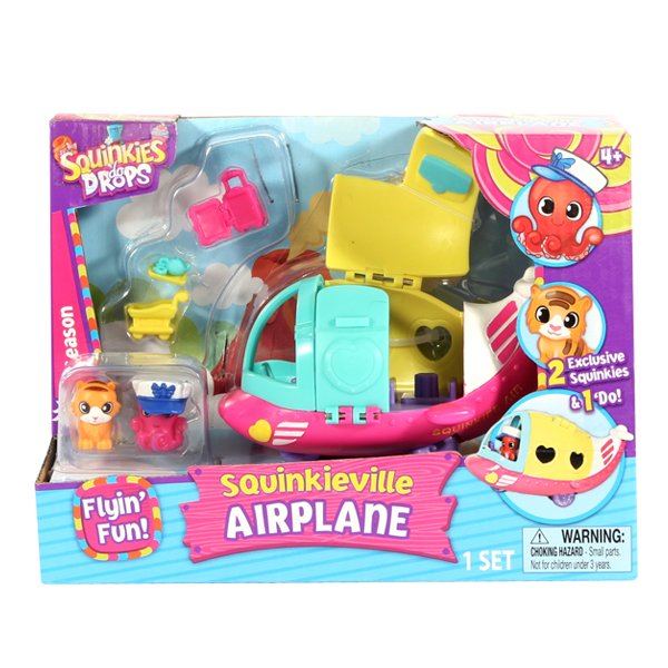 Squinkies Official | Airplane Set | Squinkie News
