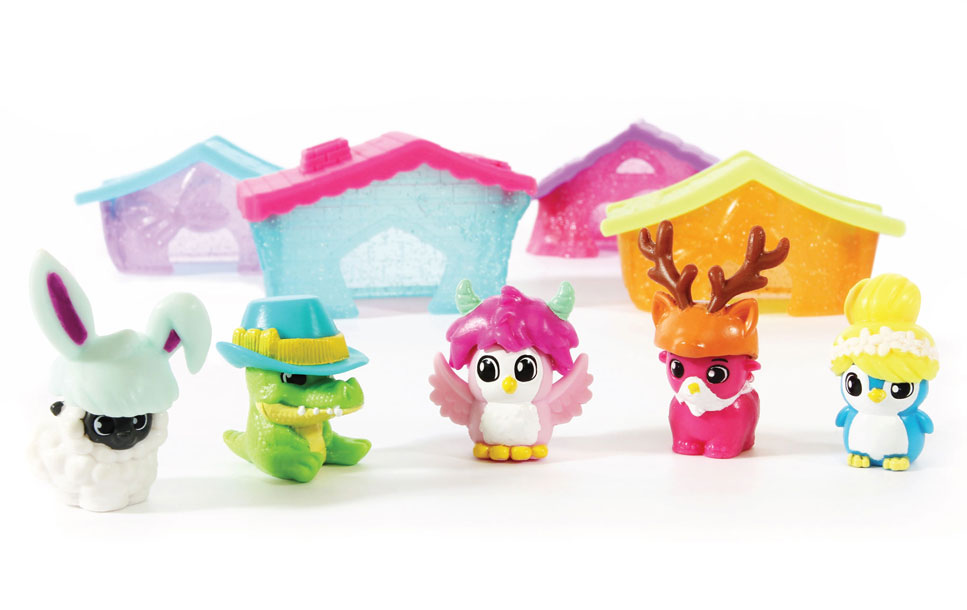 Squinkie Characters - Squinkie Playsets